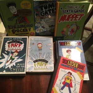 7 tween books